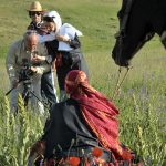 Behind the scene of Women of the Silk Road