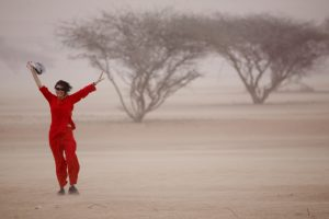 Oman desert and I, alone