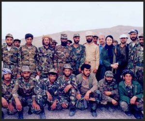 Afghanistan with first soldiers I met!