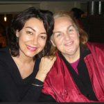 With descendent of Rumi, Ms. Esin Celebi, in Turkey.