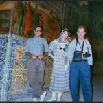 With Abbas Kiarostami & Moreza Momayez