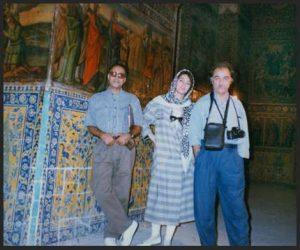 With A.Kiarostami & M. Momayez Isfahan