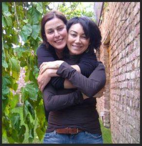 Lale Mansur dear friend in Istanbul