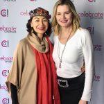 With Geena Davis